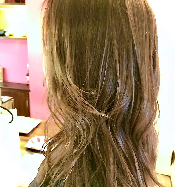 #バレイヤージュ #エアタッチナチュラル #大阪市 #美容室 #havana_stripe #髪型 #hairstyle #beauty #求人 #スタッフ募集