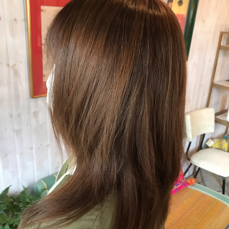 #エアタッチ #大阪市 #美容室 #havana_stripe #髪型 #hairstyle #beauty #求人 #スタッフ募集