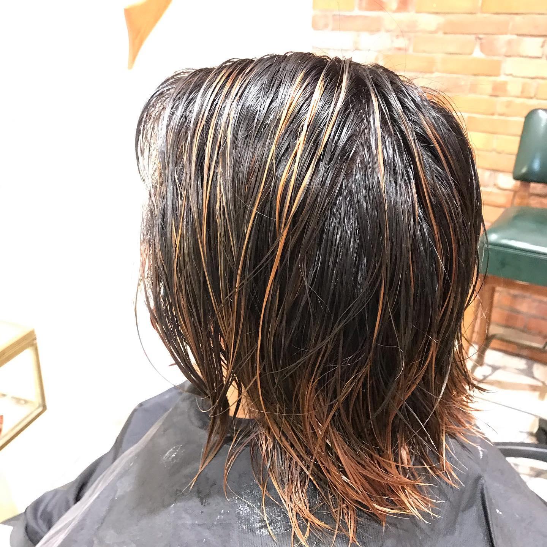 #バレイヤージュ #エアタッチ #大阪市 #美容室 #havana_stripe #髪型 #hairstyle #beauty #求人 #スタッフ募集