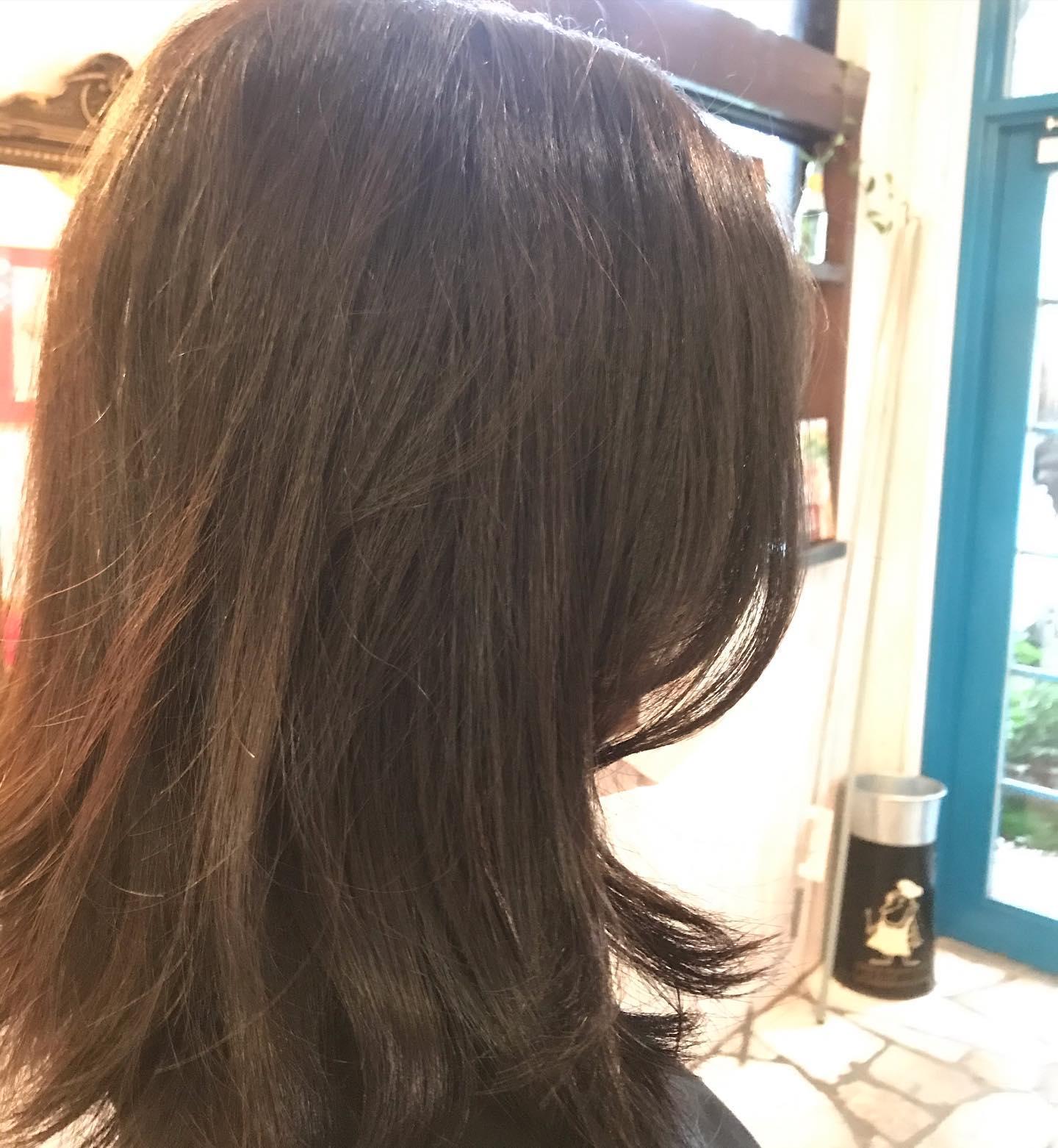 外ハネ気分 #大阪市 #美容室 #havana_stripe #髪型 #hairstyle #beauty #求人 #スタッフ募集